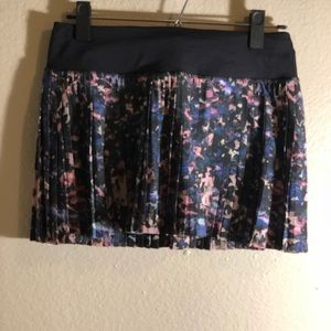 Lululemon Pleat to Street skirt - floral